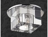 Точечный встраиваемый светильник Novotech 369226 Cubic (модерн, хром)