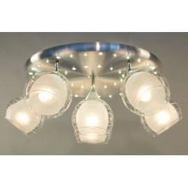 Люстра потолочная спот Citilux CL158162 Самба + LED (модерн, никель)