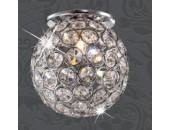 Точечный встраиваемый светильник Novotech 369738 Elf (модерн, хром)