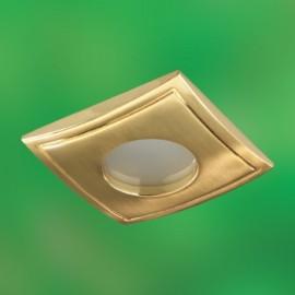Влагозащищенный встраиваемый светильник Novotech 369308 Aqua (модерн, золото)