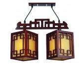 Люстра подвесная MW-Light 339015102 Восток (японский стиль, дерево)