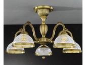Люстра Reccagni Angelo PL 6222/5 (классический, бронза)