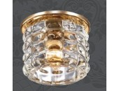 Точечный встраиваемый светильник Novotech 369724 Arctica (модерн, золото)