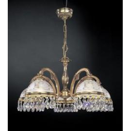 Люстра Reccagni Angelo L 6100/5 (классический, золото)