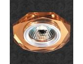 Точечный встраиваемый светильник Novotech 369760 Mirror (модерн, янтарный)